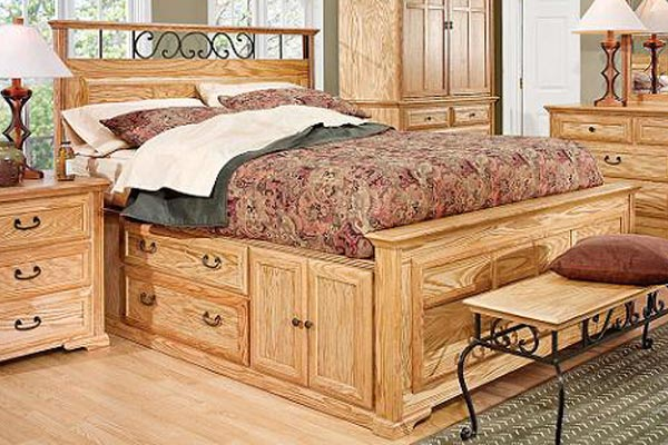 Thornwood Queen Size Captain Bed With Left Storage At Gardner White