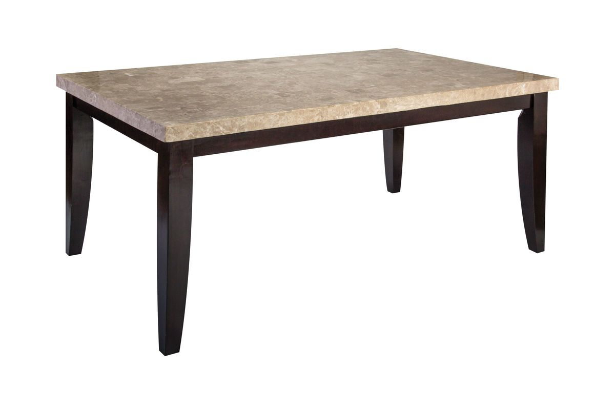 Monarch Marble Conventional Dining Table from Gardner-White Furniture