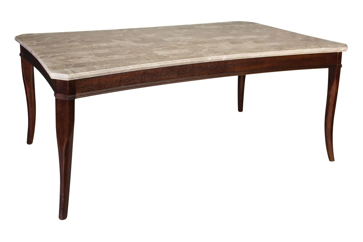 Marseille Marble Conventional Dining Table from Gardner-White Furniture