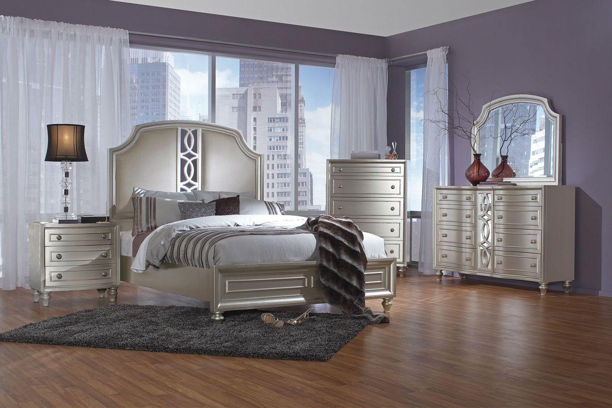 Colleen 5 Piece King Bedroom Set At Gardner White