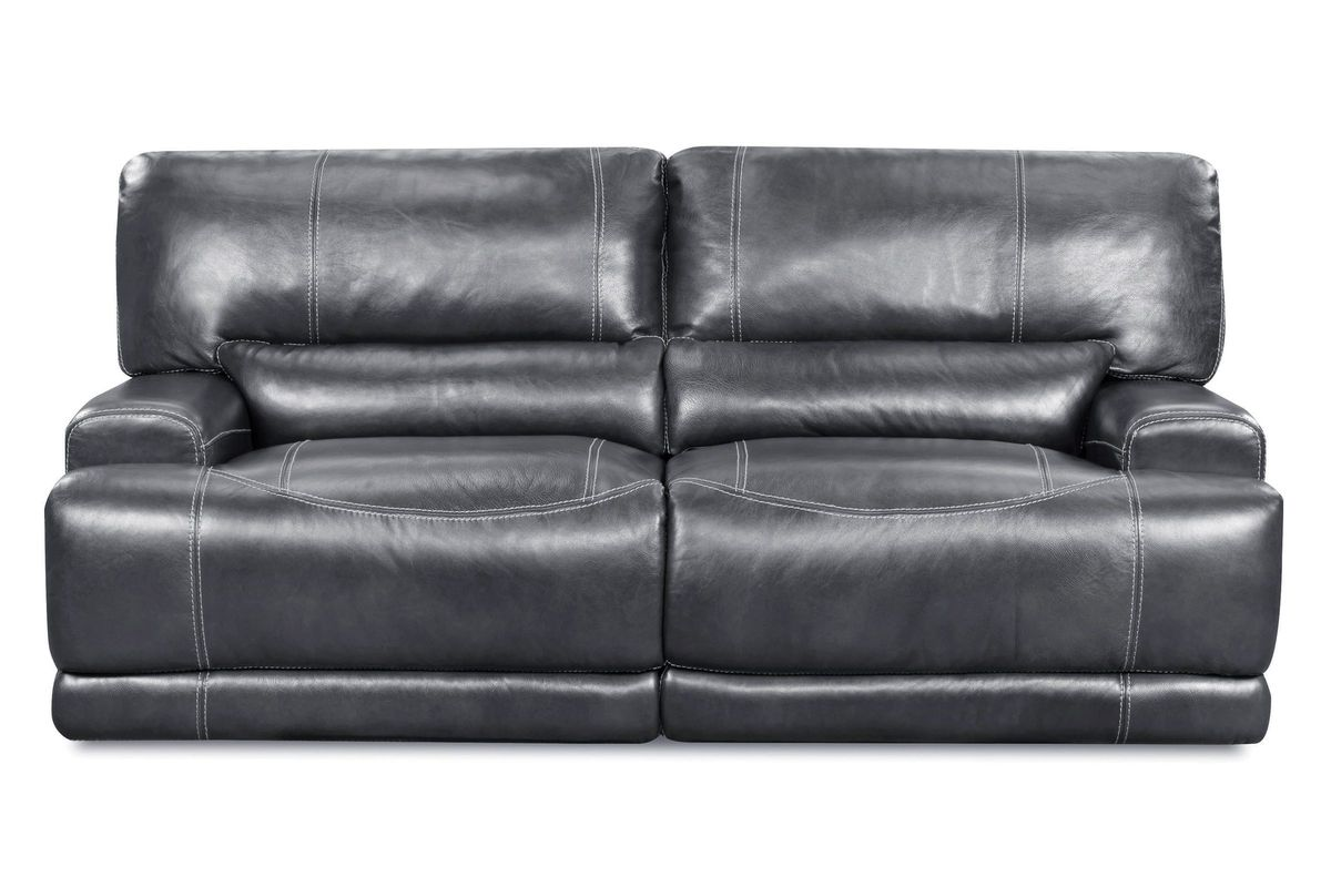 Cannon Leather Power Reclining Sofa from Gardner-White Furniture