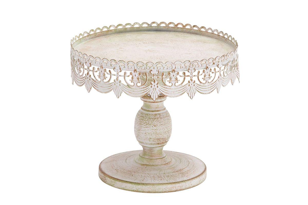 Rustic Elegance Draped Bunting Pedestal 10