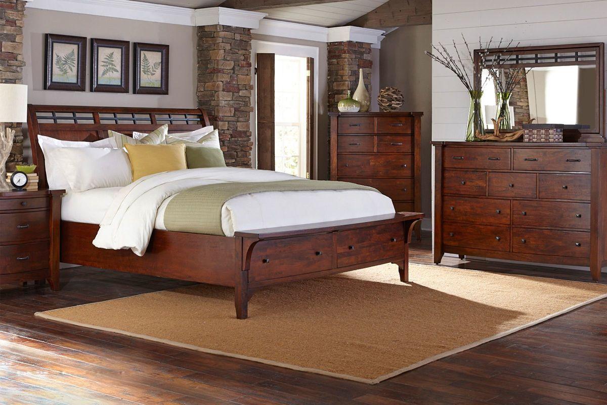Whistler 5-Piece King Bedroom Set from Gardner-White Furniture