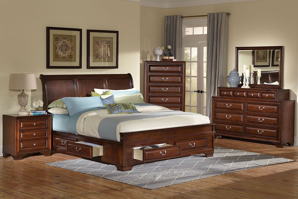 Cadence 5-Piece King Bedroom from Gardner-White Furniture