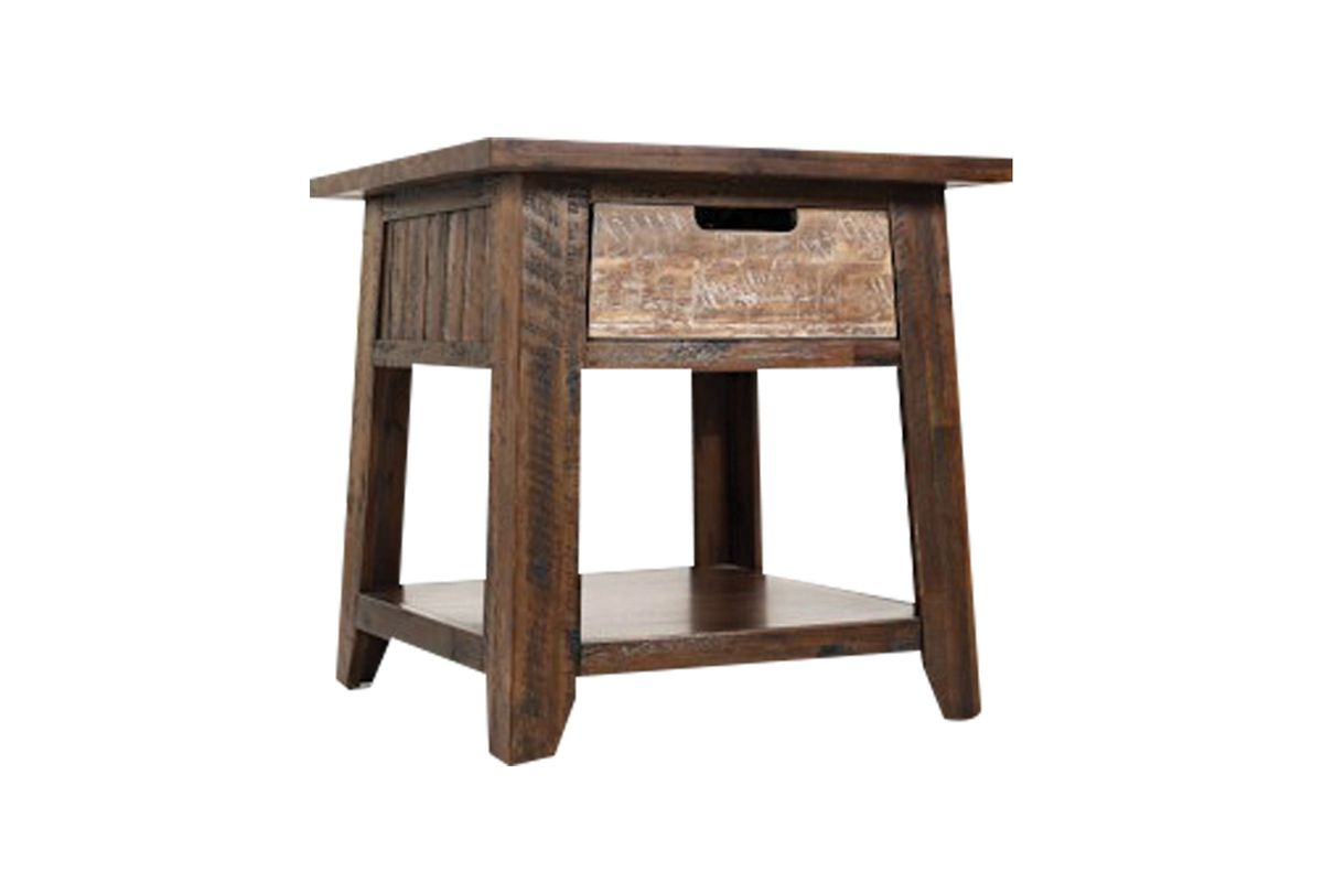 Castered End Table with Drawer from Gardner-White Furniture