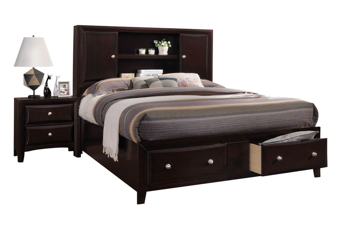 Solitude Full Storage Bed from Gardner-White Furniture