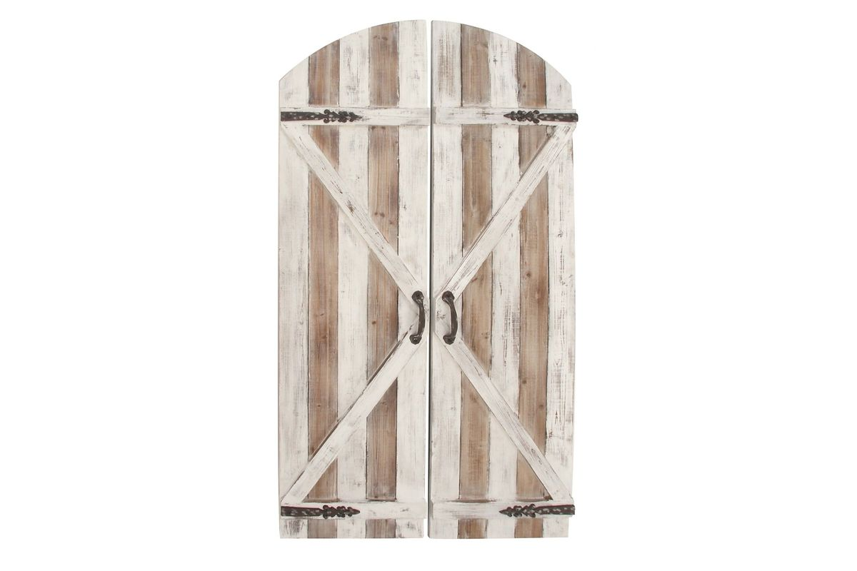 Rustic Reflections Barn Door Wall Panel from Gardner-White Furniture