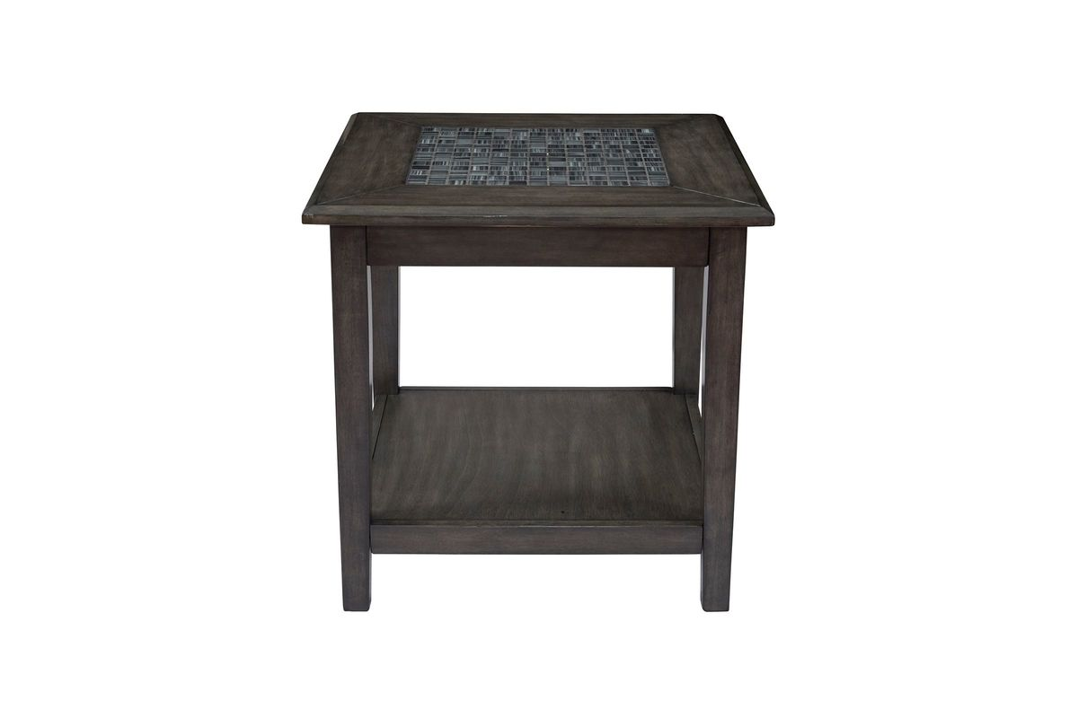 Grey Mosaic End Table from Gardner-White Furniture