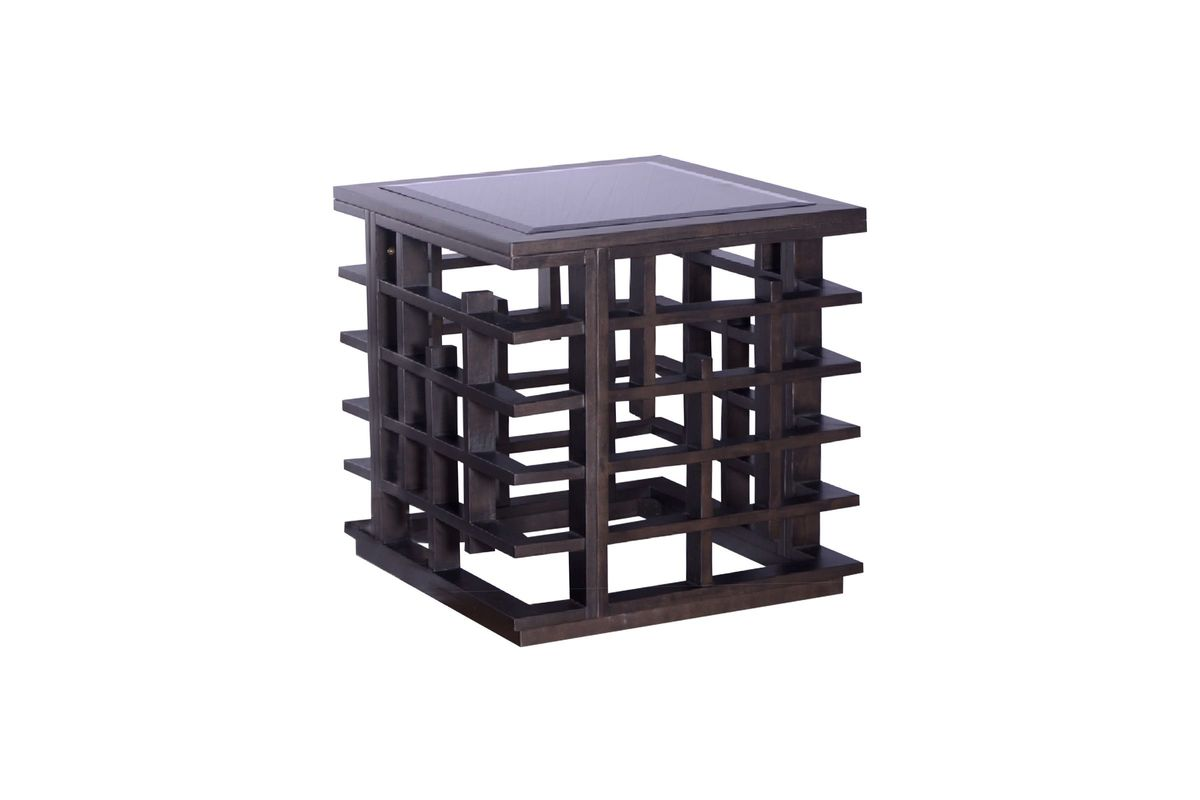 Slat Square End Table from Gardner-White Furniture