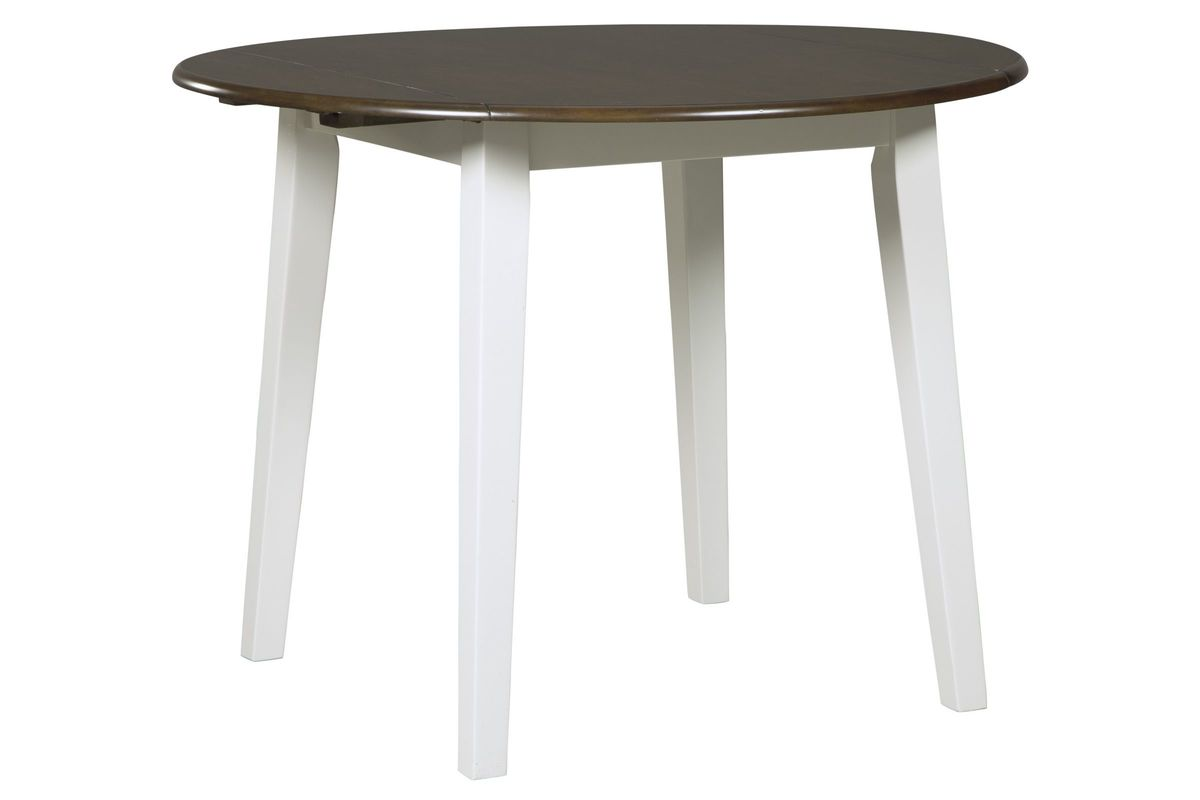 Woodanville Round Drop Leaf Dining Table by Ashley from Gardner-White Furniture